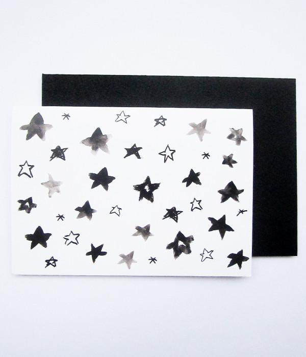PETERSEN Karte Brightest Stars in the sky hellopetersen