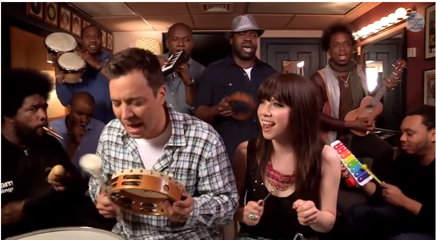 Jimmy Fallon Carly Rae Jepsen Call me maybe