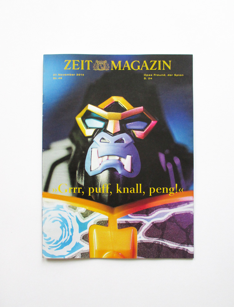 DIE ZEIT Magazin PETERSEN hellopetersen Enjoy it becuase it is happening poster_2
