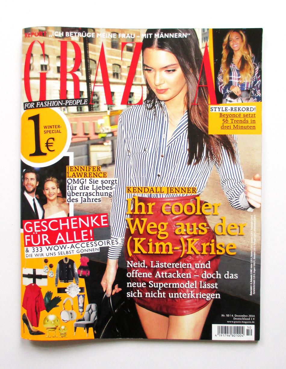 GRAZIA magazin Petersen hellopetersen Tasse