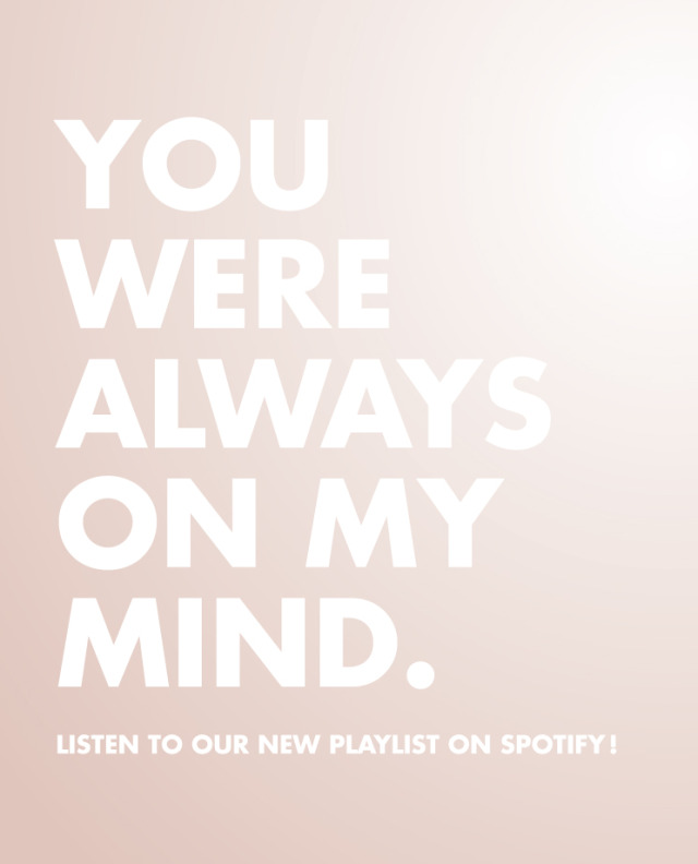 Spotify_always on my mind.indd