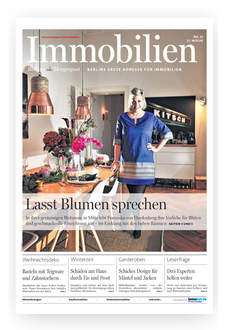 Berliner Morgenpost Interview Bloomy Days Petersen_4